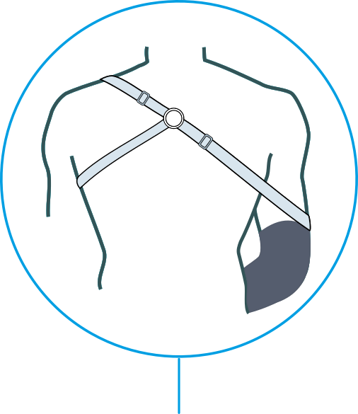 harness for mechanical prosthesis